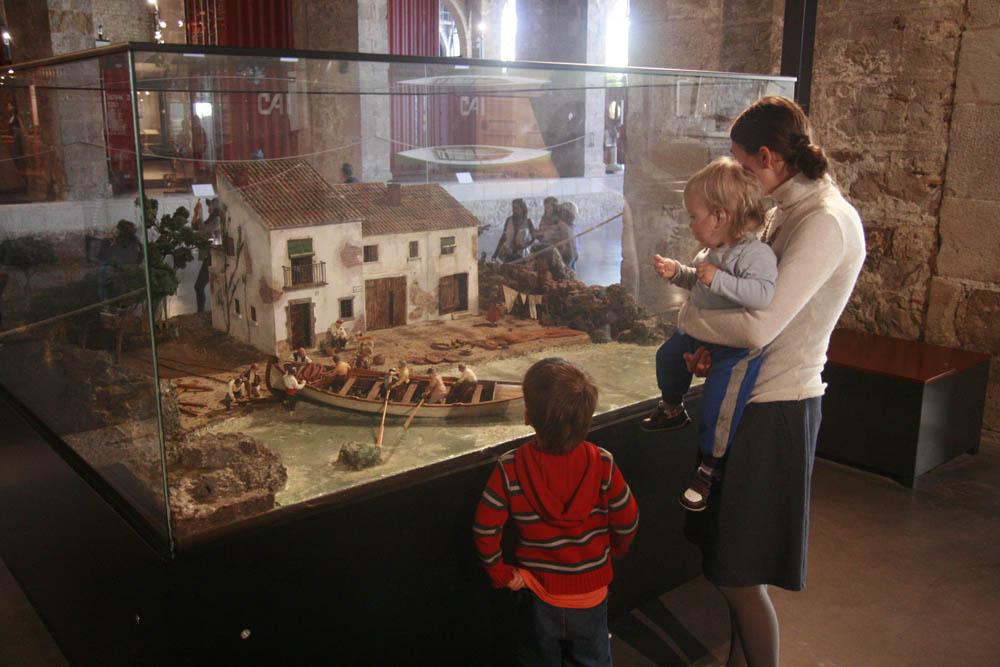 с детьми в Барселоне