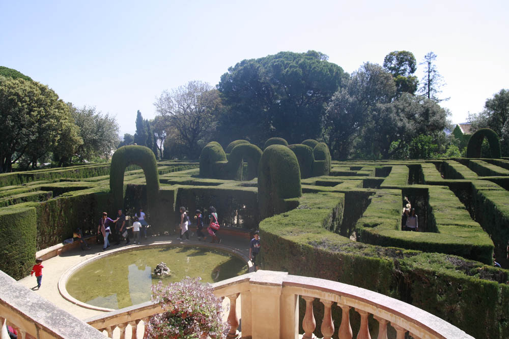 парк Орта в Барселоне