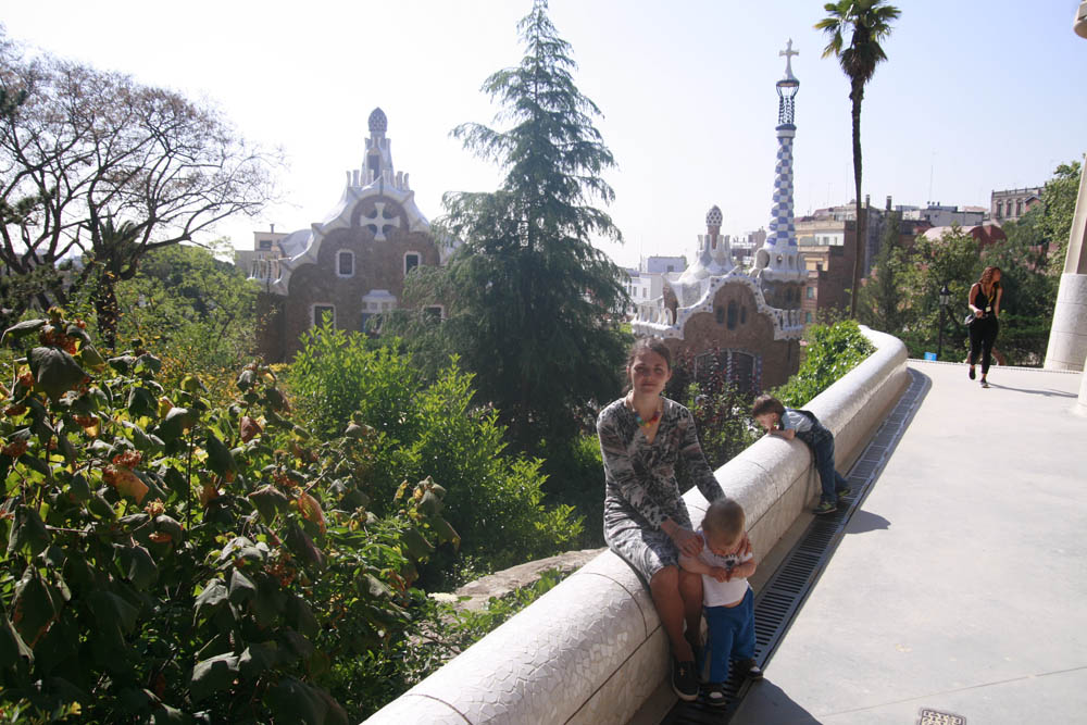 парк Гуэля Гауди