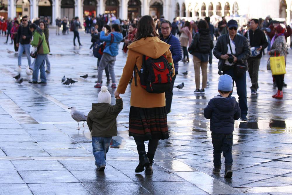 в венецию с детьми