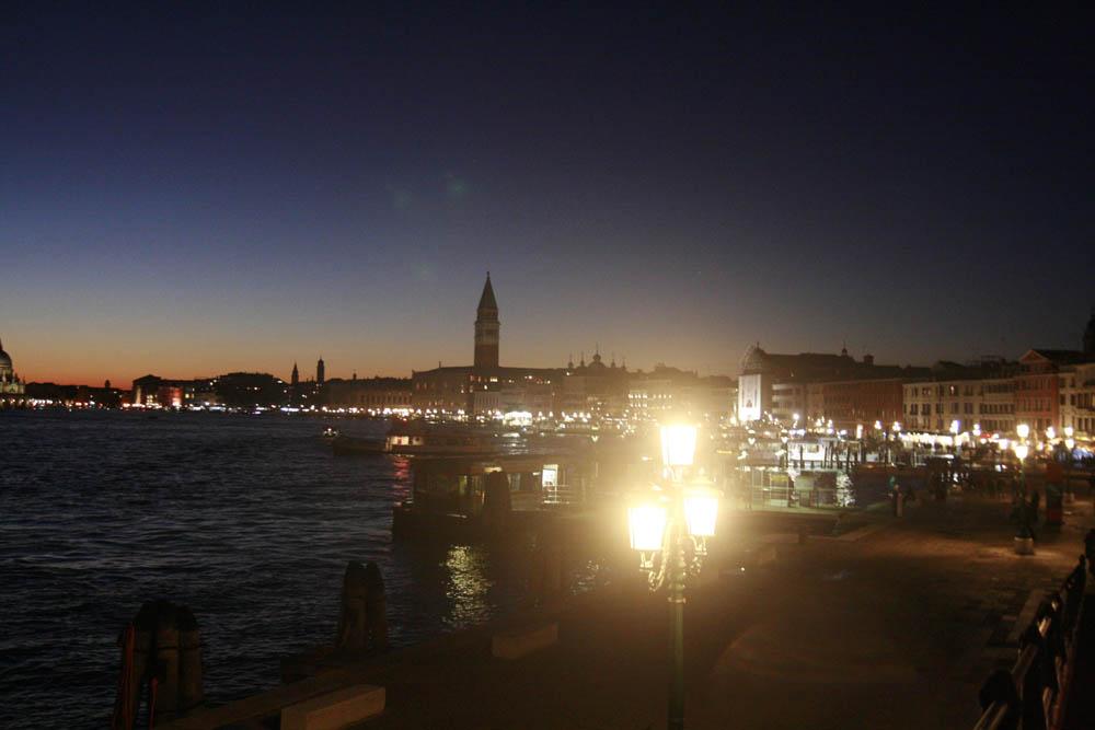 ночная венеция набережная