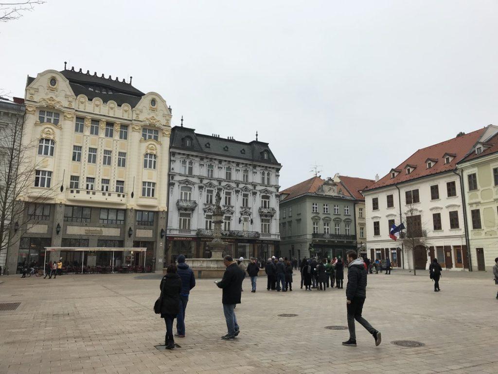ратушная площадь, Братислава