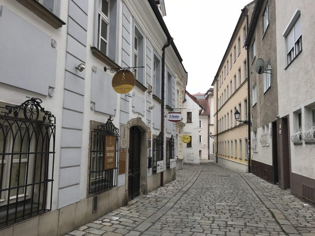 Братислава, старинные улицы