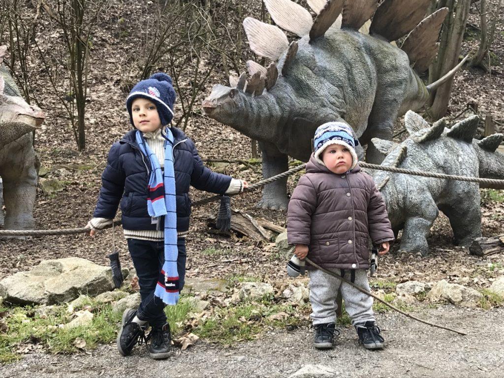 Dinopark развлечения для детей в Братиславе
