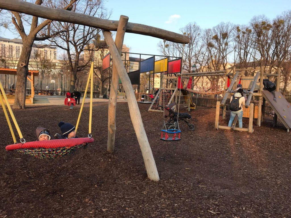 детская площадка Стадпарк