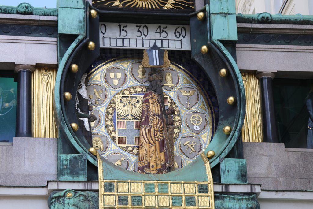 городские часы Анкерур в Вене