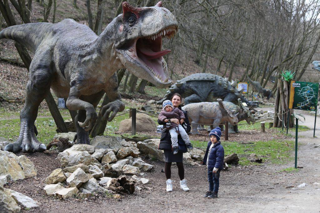 парк динозавров Словакия