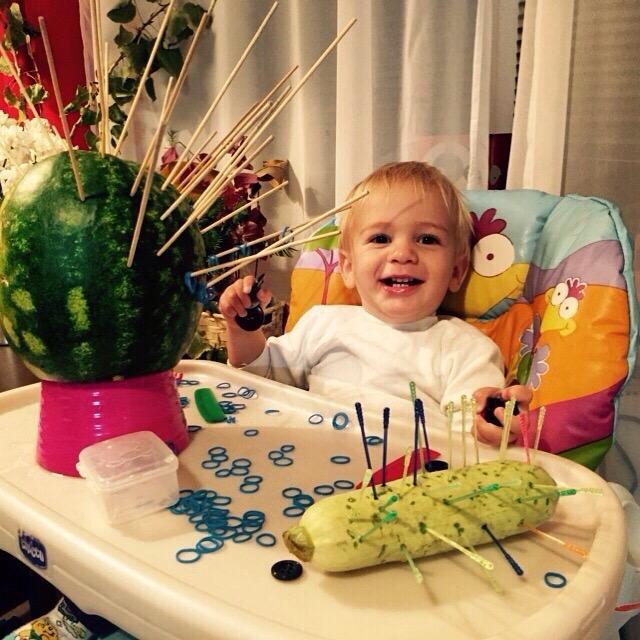 поделки из овощей для малышей