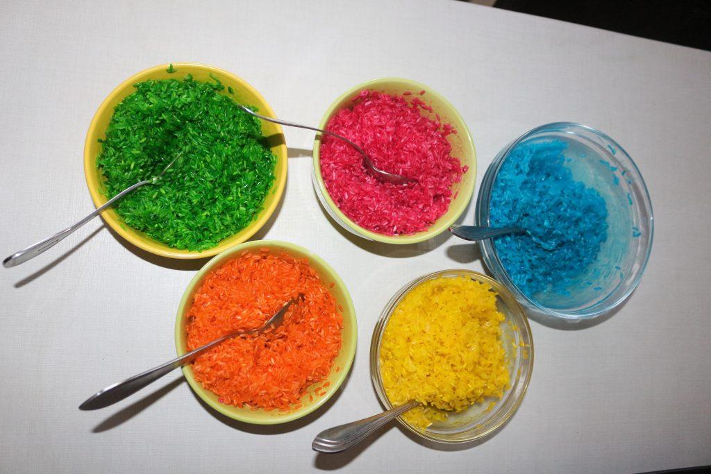 цветной рис для игр