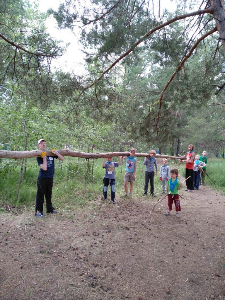лагерь для мальчиков Украина
