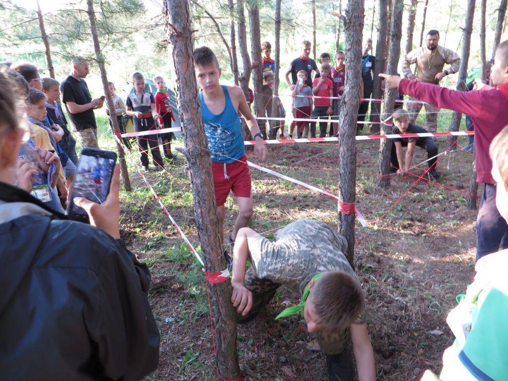 тренировочный лагерь для мальчиков